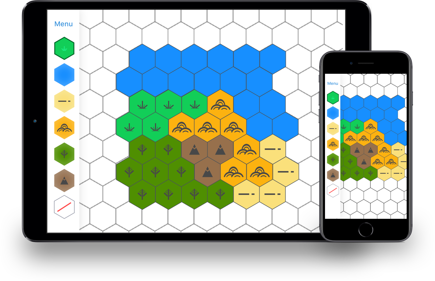 Hex Map Maker · Frimicc